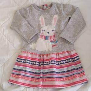 Toddler girl winter dress